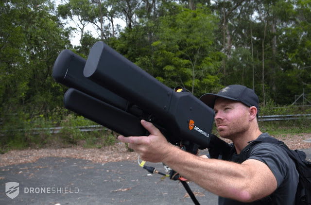 The war between drones and humans intensifies, but this huge bazooka is close to giving us an advantage