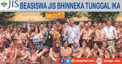 Beasiswa JIS Bhinneka Tunggal Ika 2021