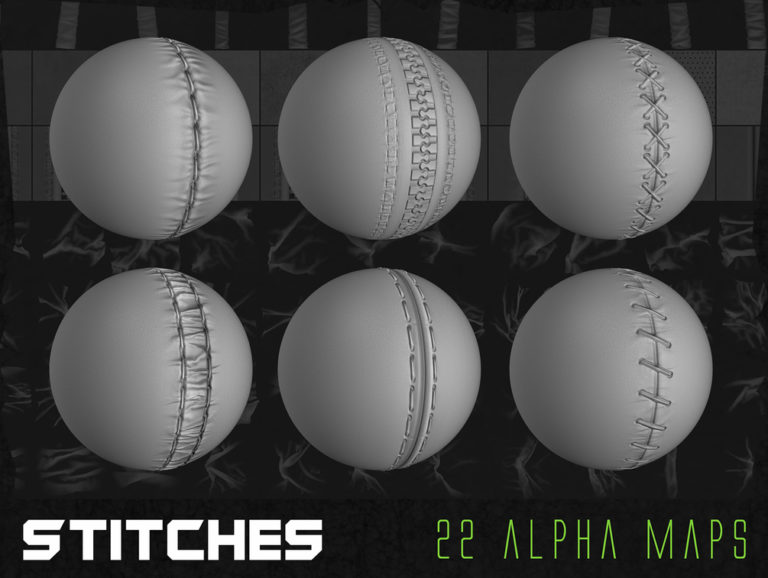3D is my life: Flippednormals – 150+ Ultimate Cloth Alpha Pack