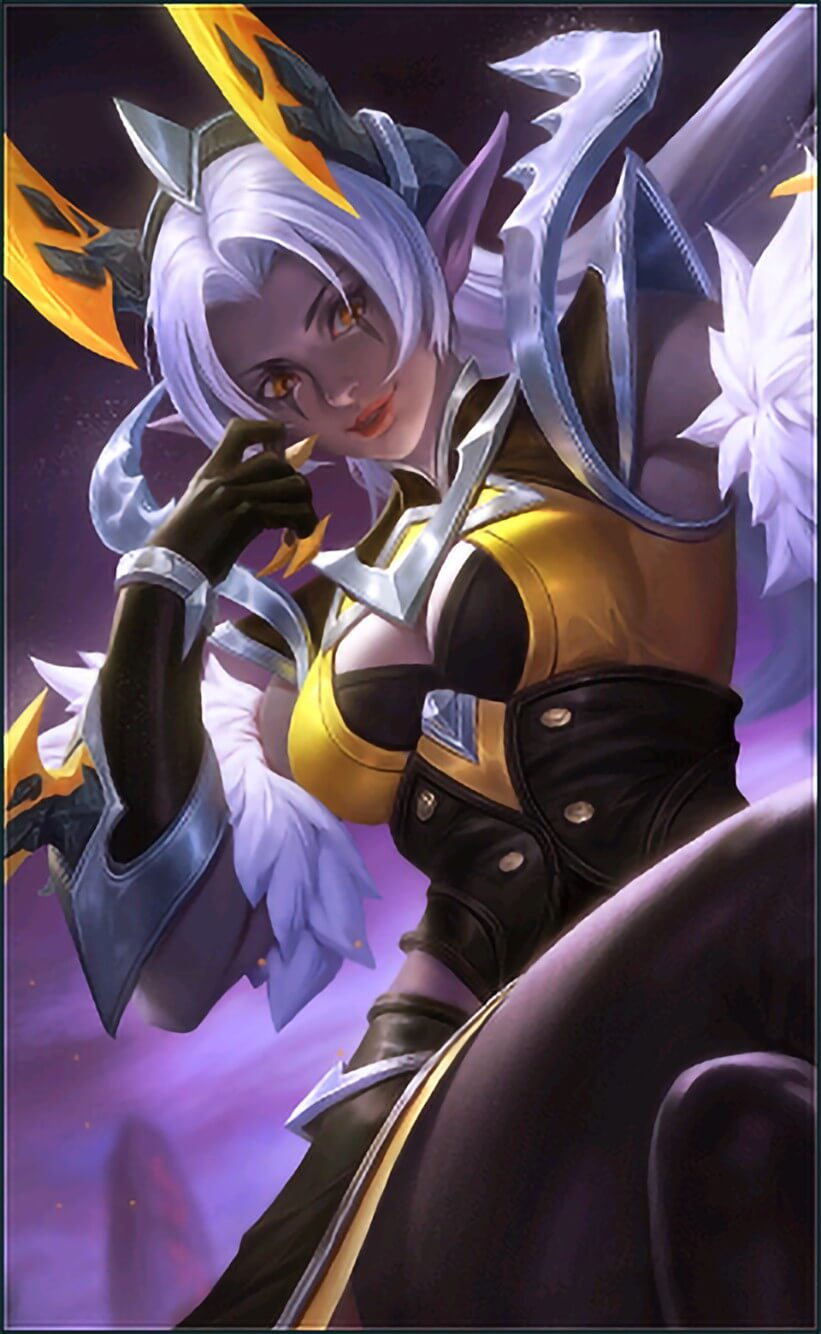 Wallpaper Selena Wasp Queen Skin Mobile Legends HD for Android and iOS