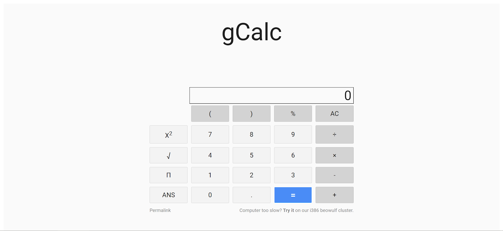 Orange: Google CTF 2018 Quals Web Challenge - gCalc