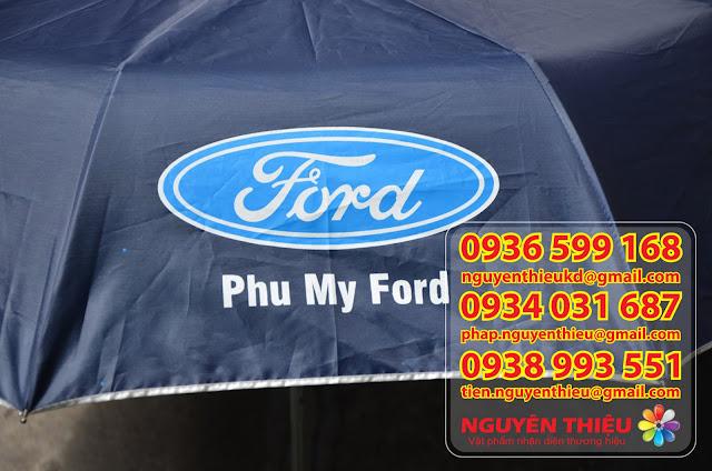 Chuyên sản xuất ô dù cầm tay in logo quảng cáo thương hiệu tại tp.HCM