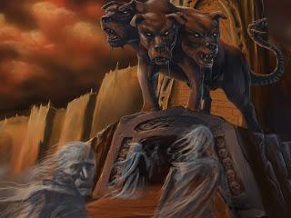 Resultado de imagen de inframundo mitologia griega