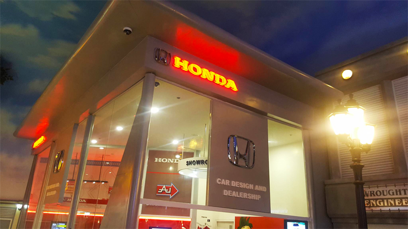 Honda Car Design and Dealership and Honda Pit Crew Training at Kidzania Manila