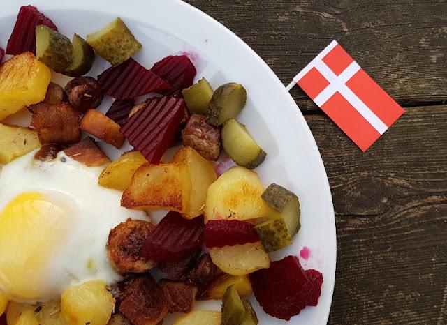 Rezept aus Dänemark: Biksemad im Backofen zubereiten. Im Ofen ist die Zubereitung schnell und praktisch!
