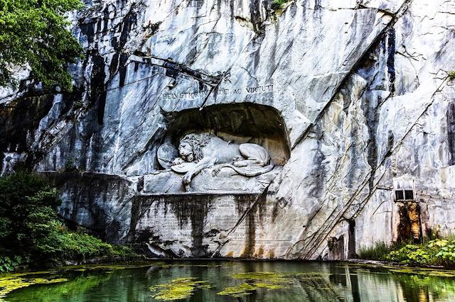 The Lion Monument, Lucerne