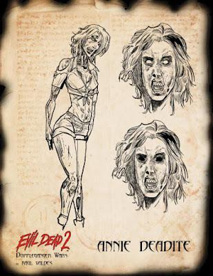 Evil Dead 2: Doppleganger Wars, Annie