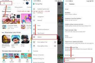 Cara Blokir Konten Dewasa di Play Store