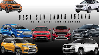 Best Compact SUV in India 2021 under 15 lakhs