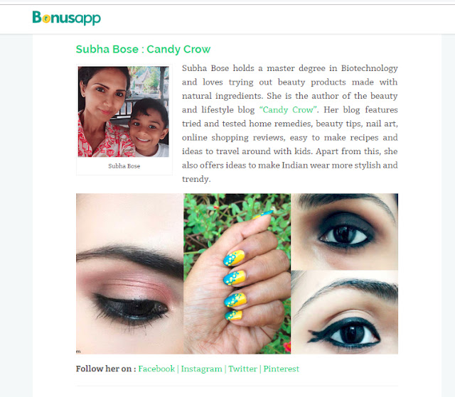 Top 10 Indian Beauty Blogs 2018 candycrow