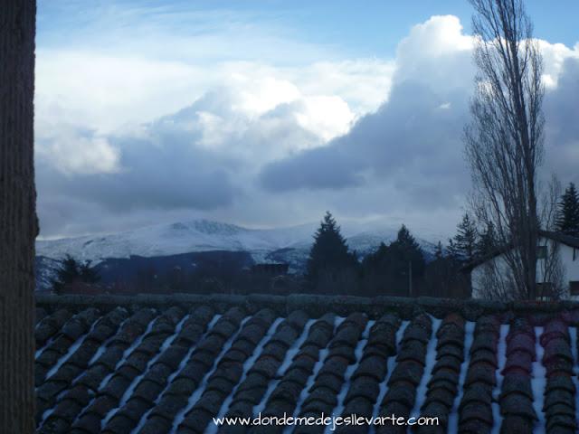 Vistas desde la ventana del Hotel Rural Casa Granero