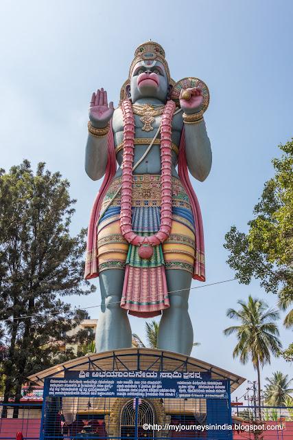 Hanuman Statue Agara Bangalore