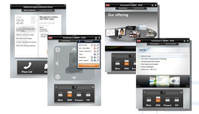 Giải pháp hội nghị trực tuyến Avaya có giao diện người dùng thân thiện