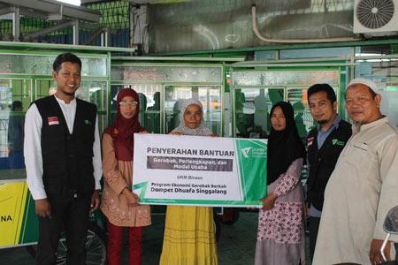 program bantuan usaha dari dompet dhuafa