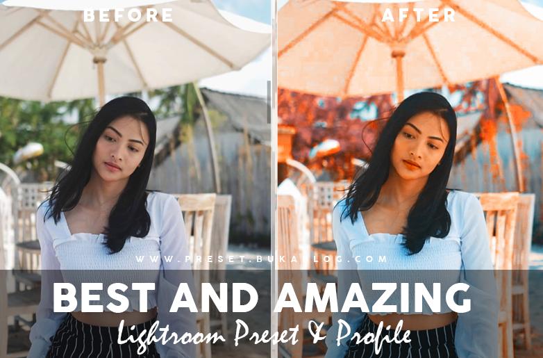 Hasil Dari Profile dan Preset Lightroom :