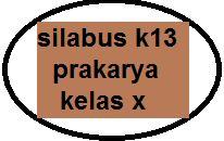Silabus K13 Prakarya Kelas X Sma Revisi Terbaru Kherysuryawan Id