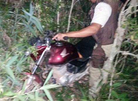 Cascavel/Ibicoara: Polícia recupera moto roubada