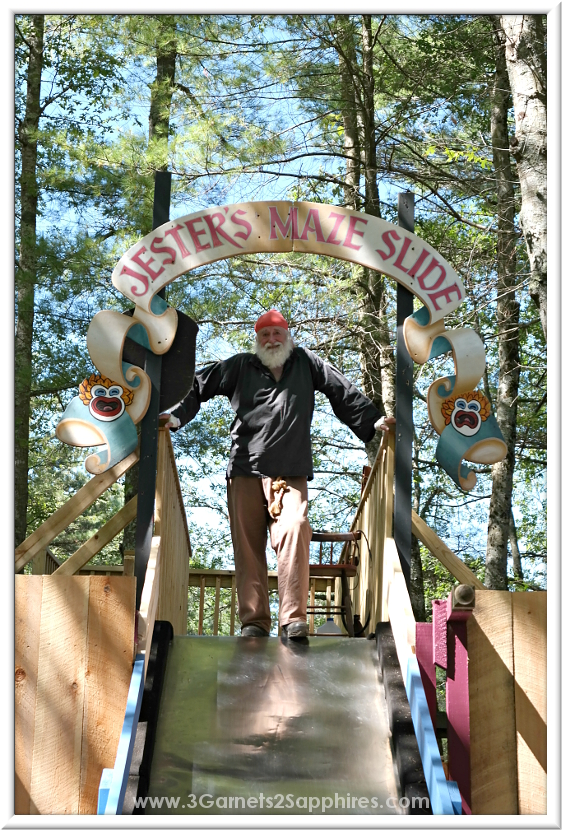 Jester's Maze Slide at King Richard's Faire 2015 #krfaire