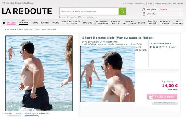 5451dd3895d Bad buzz for La Redoute or a very clever PR campaign  The internet  certainly has gone into nude man overdrive. He is everywhere.