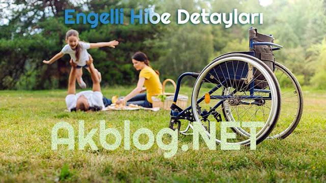 Engelli Hibe Şartları Tüm Detaylar