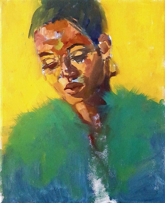 Британский художник. Katrine Storebo
