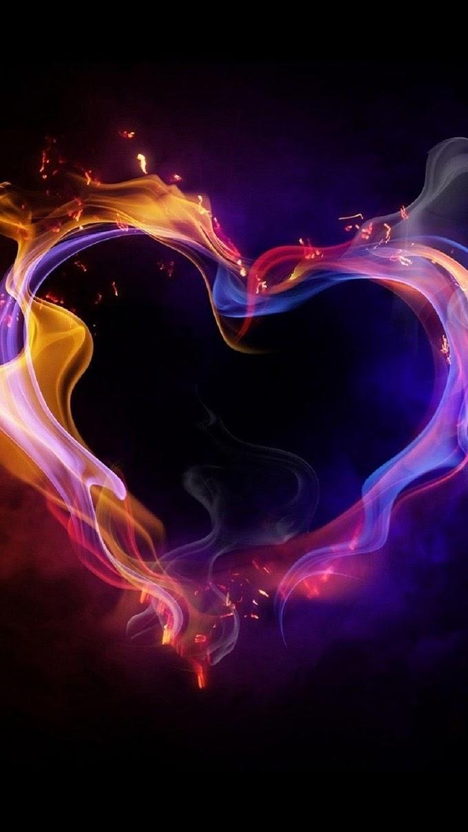 Papel de Parede Coração para Celular