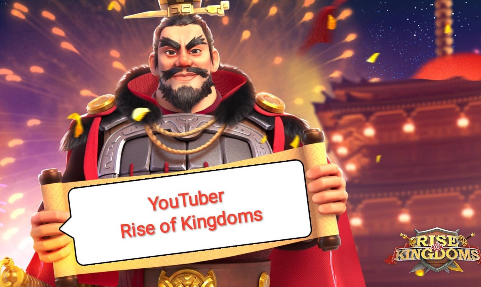youtuber rise of kingdoms indonesia