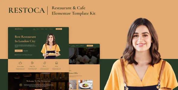 Best Restaurant & Cafe Elementor Template Kit