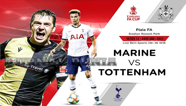 Prediksi Marine AFC Vs Tottenham Hotspur