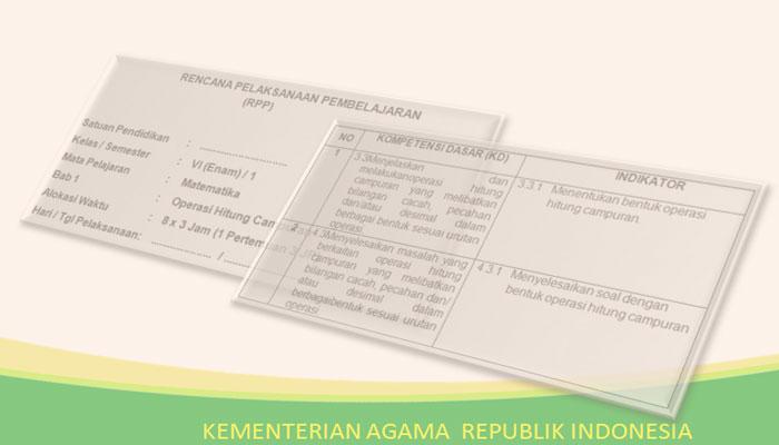 RPP Matematika Kelas 6 SD MI Kurikulum 2013 Revisi Terbaru 2018