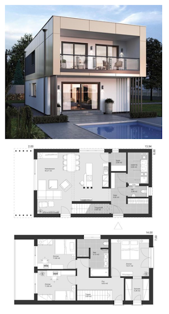 Model Desain Rumah Minimalis Modern Terbaru 2019