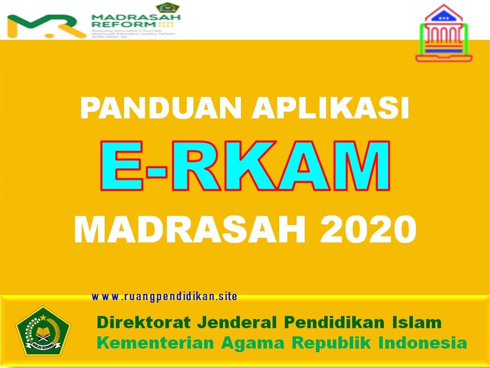 Penggunaan E-RKAM Madrasah
