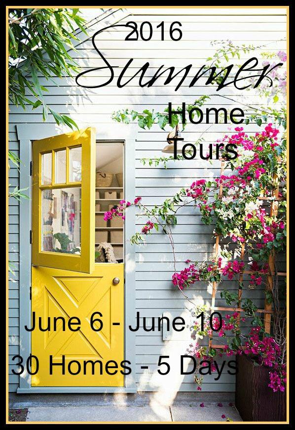 2016 Summer Home Tours - Mark Your Calendars