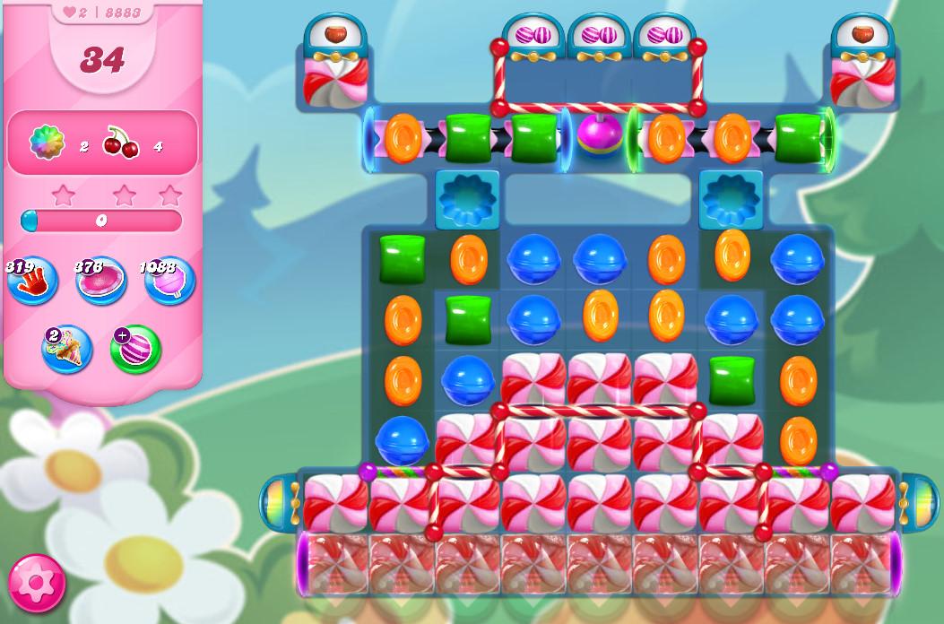 Candy Crush Saga level 8883