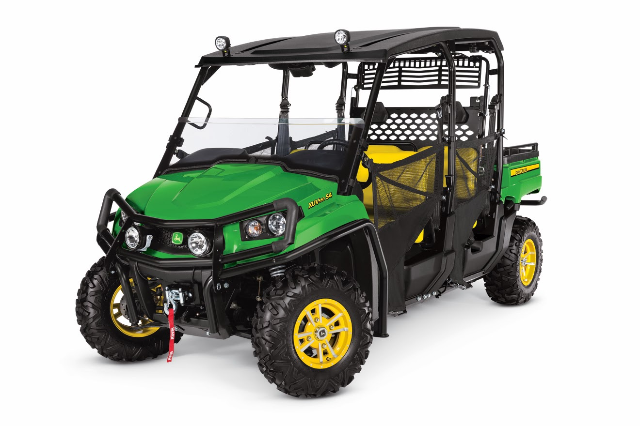 john deere announces 2014 gator product updates utv guide. Black Bedroom Furniture Sets. Home Design Ideas