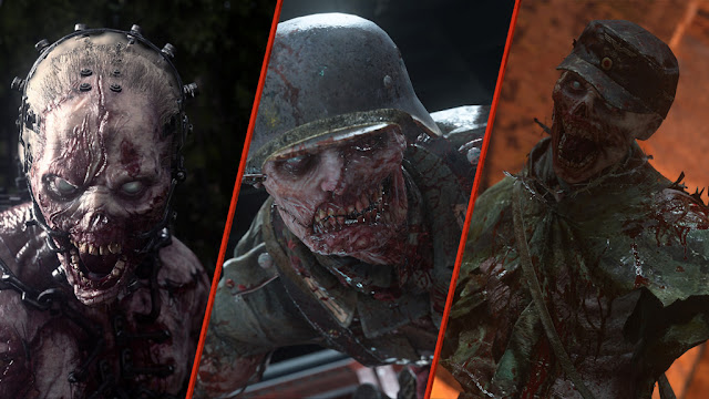 Call of Duty WWII United Front Third DLC Pack 1 Zombies