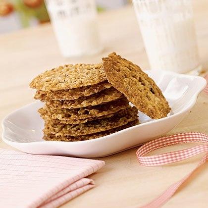 Oatmeal Pecan Lace Cookies Recipe