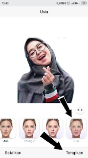 Cara Edit Foto Wajah Menjadi Tua  di Android , mengubah wajah menjadi tua , mengedit foto wajah menjadi tua , aplikasi mengubah wajah menjadi tua