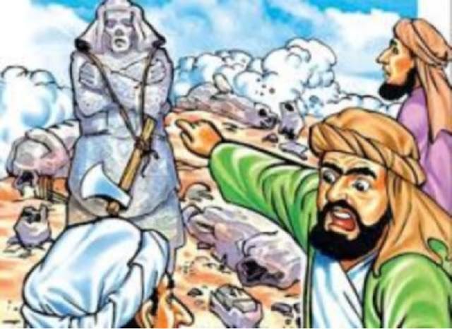 Mengapa Nabi Ibrahim Gunakan Isyarat Jempol Usai Hancurkan Berhala?