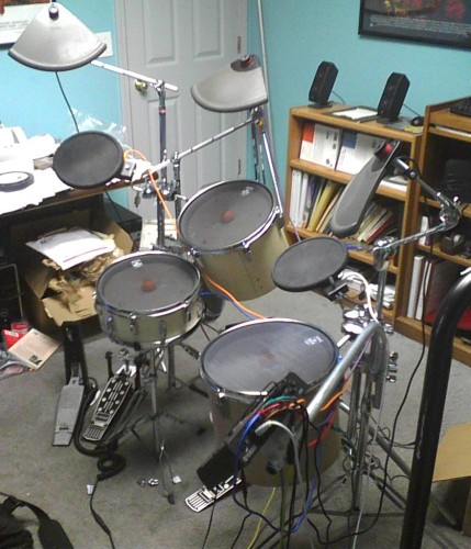 The Drum Experiment: Golf Ball Trigger Cone for Electronic Drum