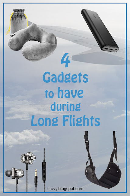 Helpful Gadgets for Long Flights
