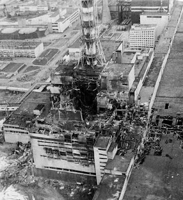Chernobyl 1986 reattore # 4 esploso