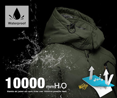 Windproof Rain Jacket