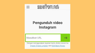 Cara download foto atau video dari Instagram