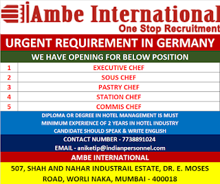 Hotel Industry opening for Germany Europe