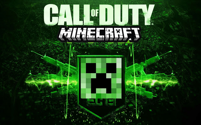 minecraft portada call of duty