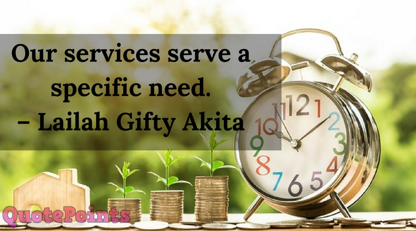 Our Services Serve a Specific Need
