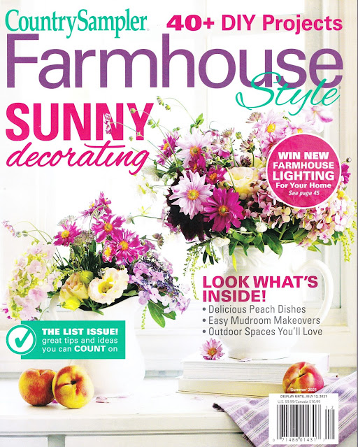 Two Washboard Project Features in Farmhouse Style Magazine