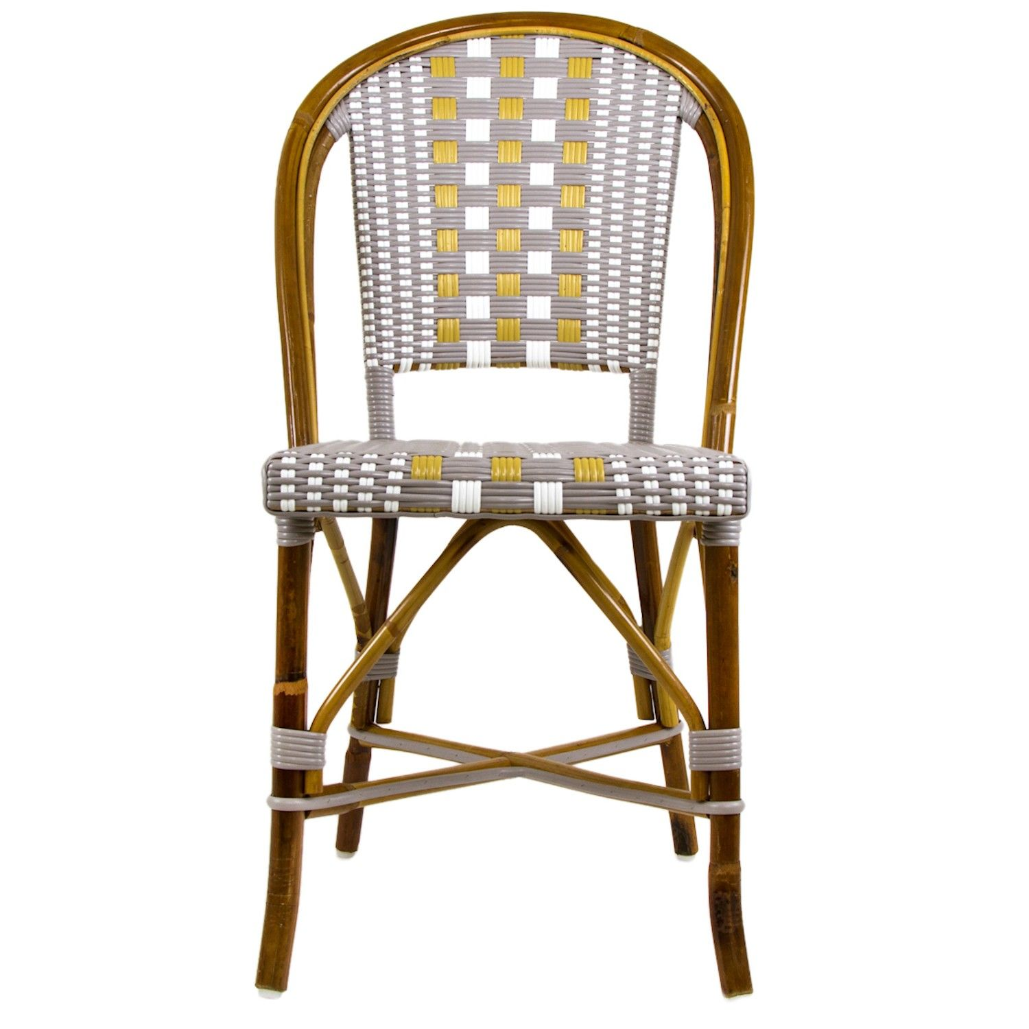 French Cafe Chairs White Barber Chair With Headrest Kira Vath Interiors