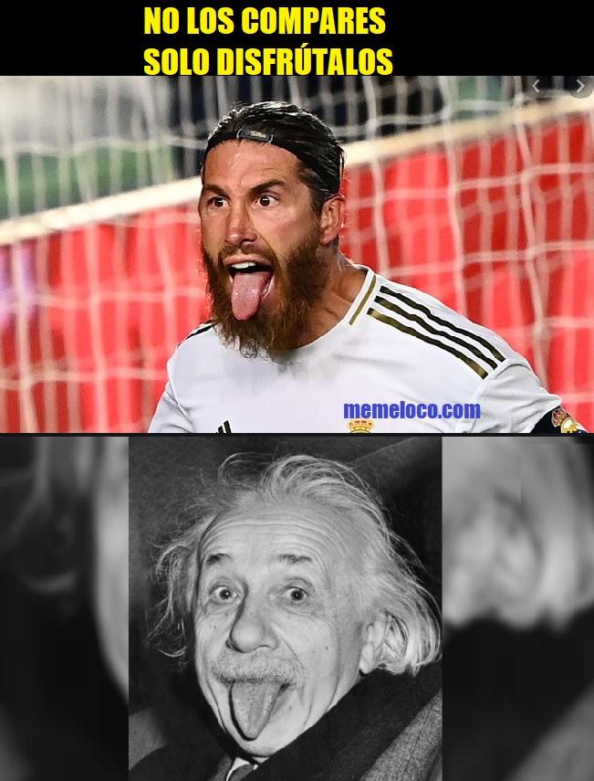 Sergio Ramos y Einstein, separados al nacer